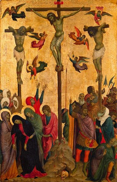 Crucifixion Duccio di Buoninsegna
