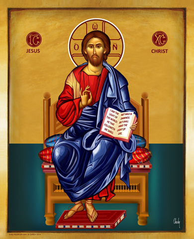 The solemnity of our lord jesus christ king of the universe jesus christ on the throne 849291389672840490588 altavistaventures Choice Image