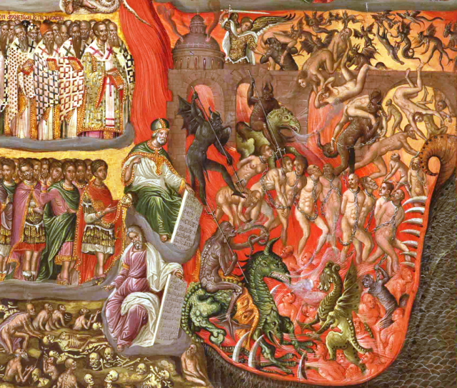 KLONTZAS_GEORGIOS_End_of_16th_cent_The_Second_Coming_detail_The_Hell.png